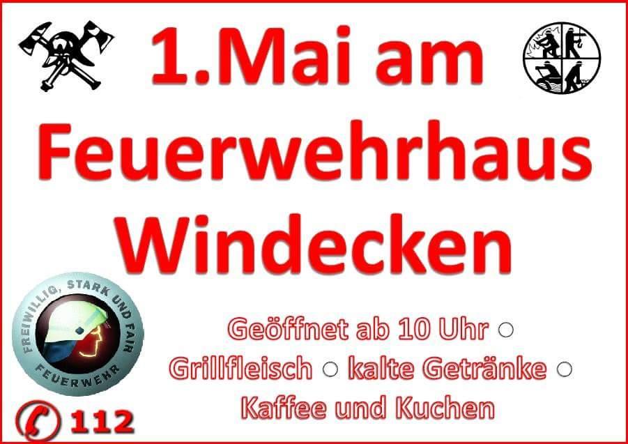1  Mai in Windecken / Geöffnet ab 10:00