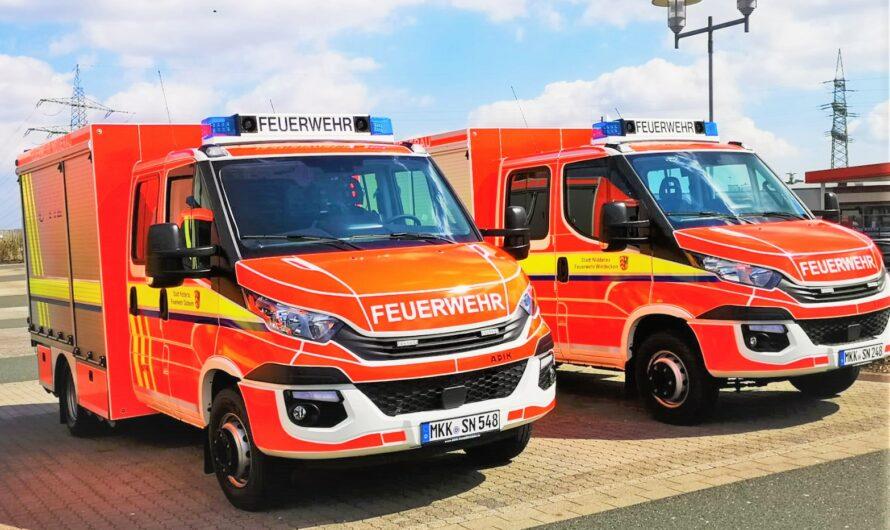 Zwei neue Fahrzeuge für die Feuerwehr Nidderau