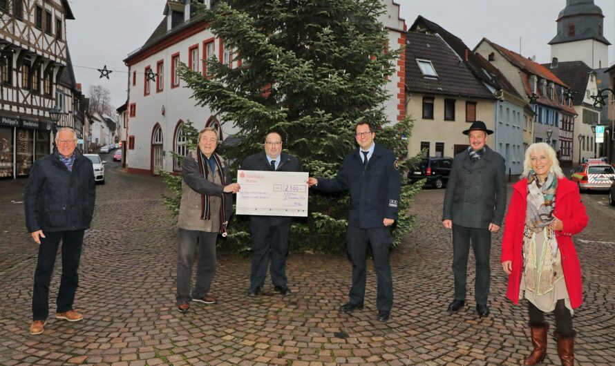 Großzügige Spende für die Jugendfeuerwehr Nidderau