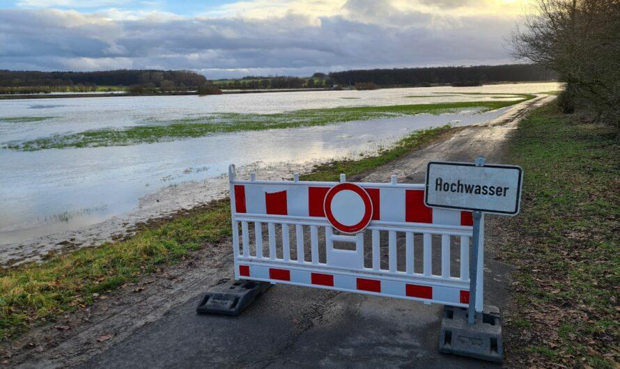 Hochwasserlage in Nidderau