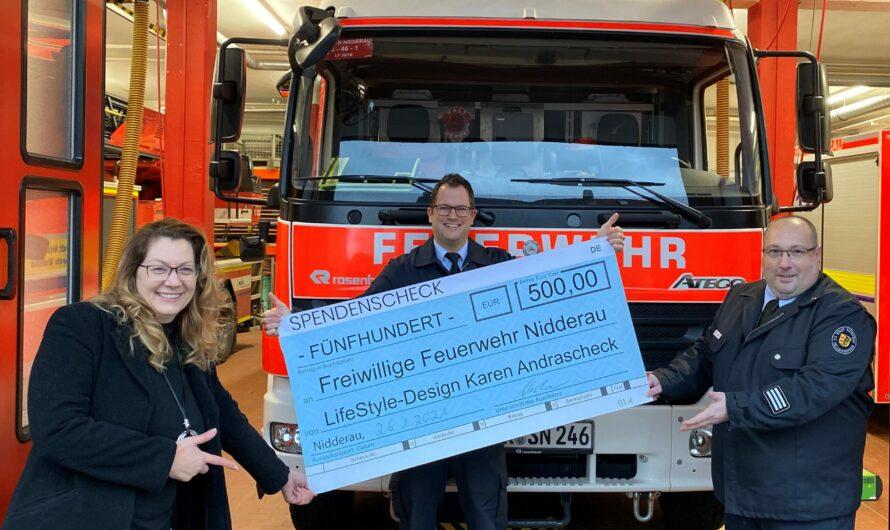 Feuerwehr bedankt sich für die zahlreichen Spenden