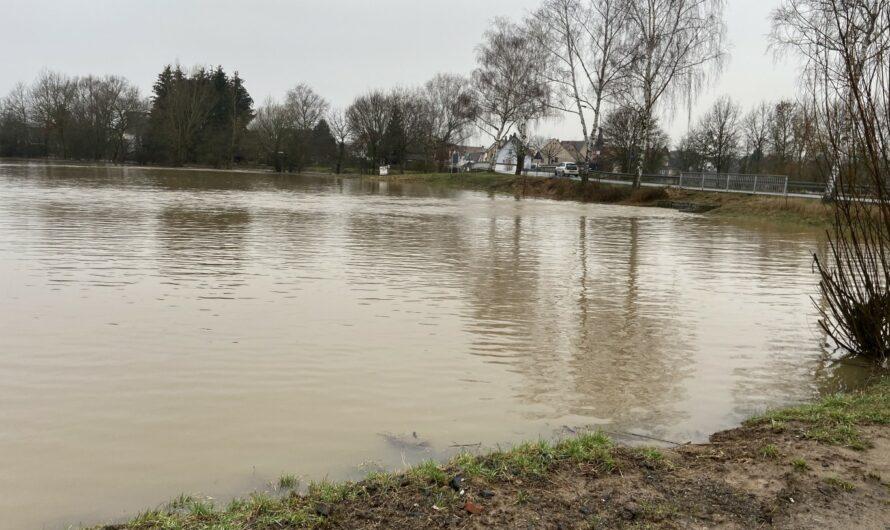 Update Hochwasserlage Nidderau