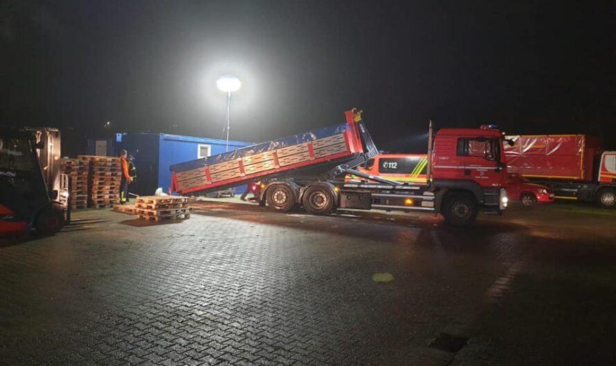 Update (22:00Uhr) zur Hochwasserlage in Nidderau