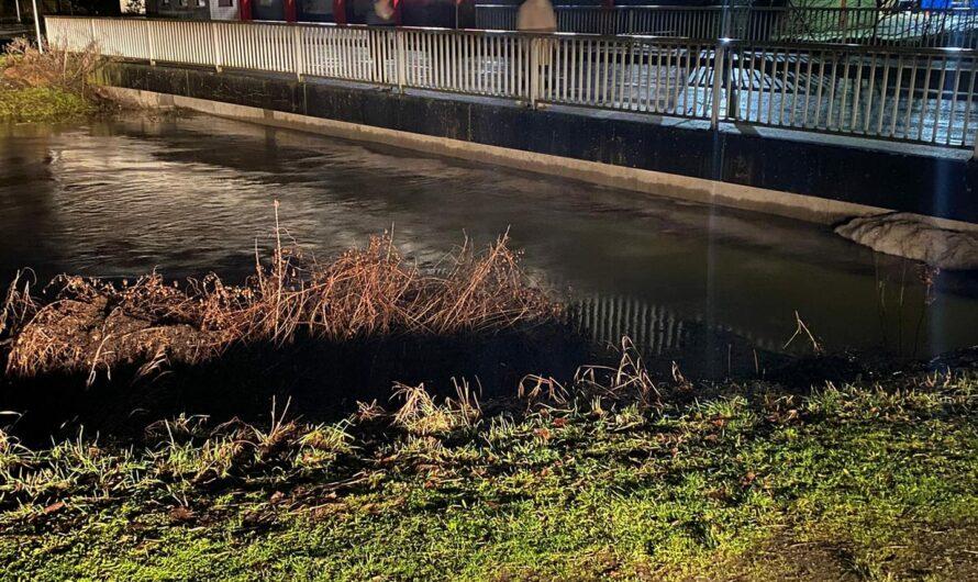 Update: (11:30Uhr) zur Hochwasserlage in Nidderau