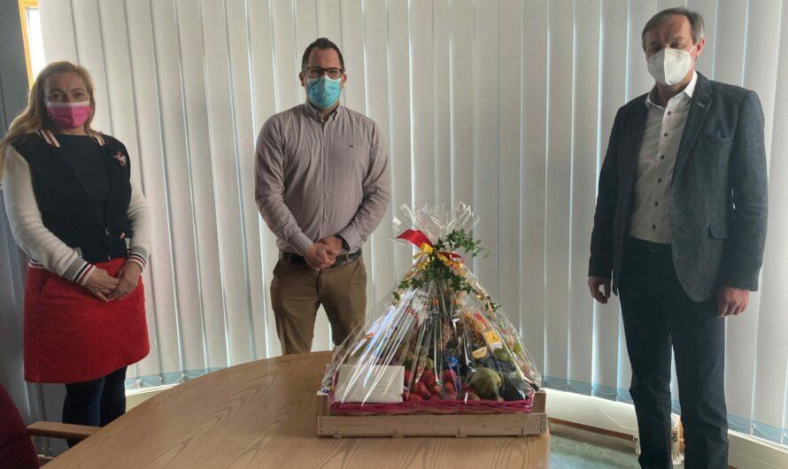 Freiwillige Feuerwehr Nidderau verabschiedet sich von Bürgermeister Gerhard Schultheiß