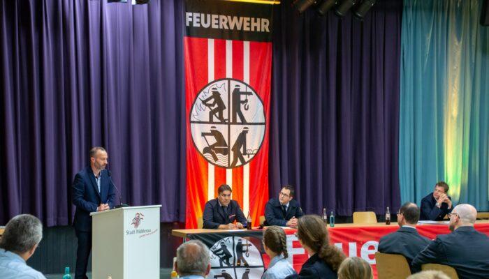 Bürgermeister Andreas Bär überbrachte Grüße und Dank im Namen der gesamten Stadt Nidderau