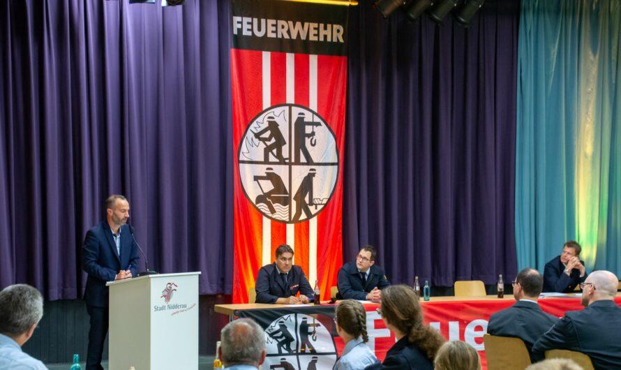 12 Neuaufnahmen im Rahmen des Ehrenamtstag bei der Feuerwehr Nidderau
