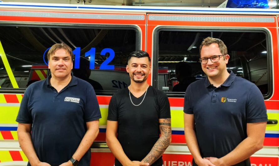 Dankes-Döner für die Feuerwehr Nidderau